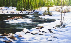 Bathed in Sunlight, ElbowRiver