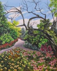 An English Garden SOLD