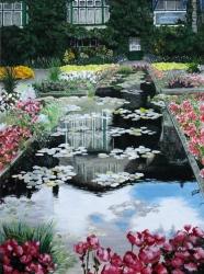 Buchart Garden, Italian Garden SOLD