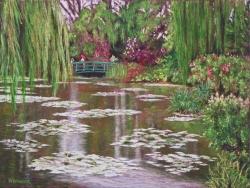 Monet's Garden SOLD